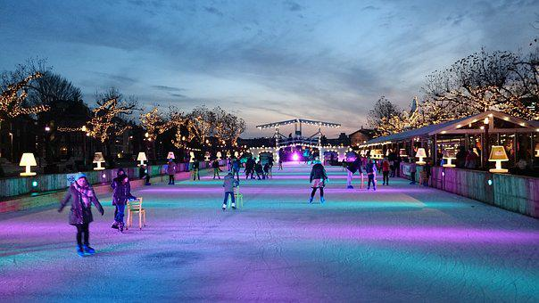 Human, Panorama, City, Horizontal, Skating, Skater
