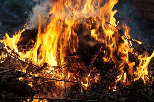 Fire, Bonfire, Flames, Element, Burning, Witch, Baking