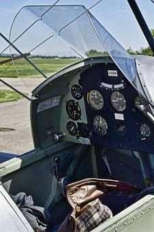 Aircraft, Cockpit, Fittings, Transport System, Flyer