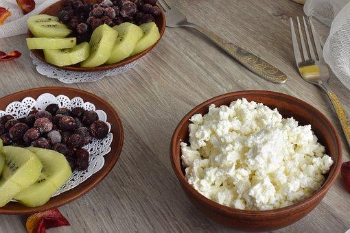 Food, Healthy, Bowl, No One, Dessert, Krupnyj Plan