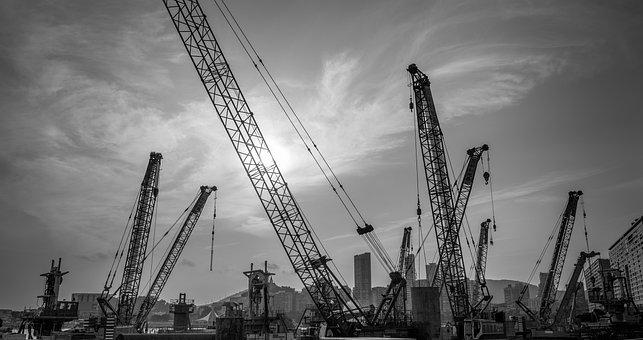 Crane, Industry, Machine, Heavy, Expression
