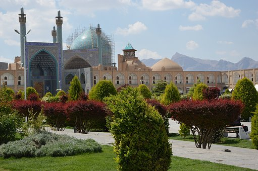 Architecture, Travel, Iran, Isfahan, Space