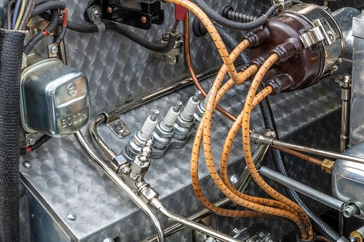 Steel, Technology, Iron, Power, Old, Chrome, Engine