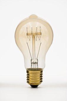Bulbs, Light Bulb, Lamp, Edison, Tungsten, Glow Wire