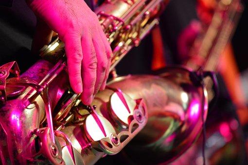 Saxophone, Music, Live, Concert, Jazz, Funk, Rock