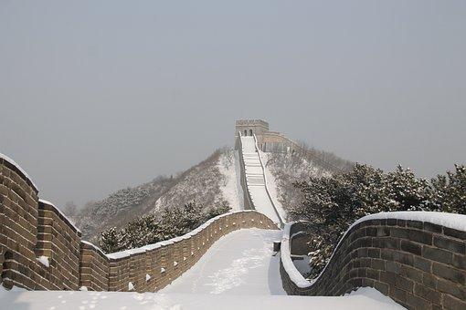 Winter, Snow, Nature, Sky, Tourism, China