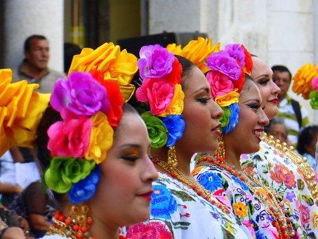Festival, People, Mexico, Parade, Religion