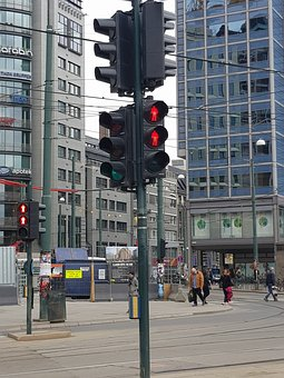 City, Street, Road, Traffic, Locality, Traffic Signal