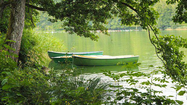Rowing Boat, Lake, Fun, Swim, Summer, Waters, Nature