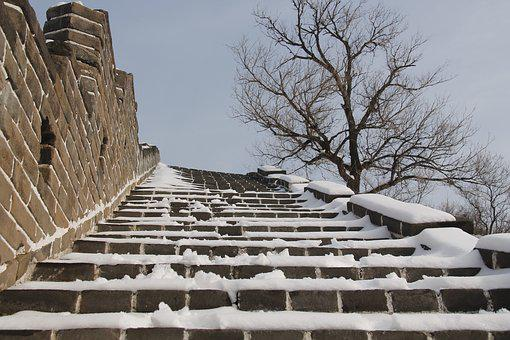 Building, Outdoor, Winter, Sky, Stone, China