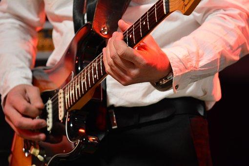 Music, Guitar, Musician, Instrument, Guitarist, Stage