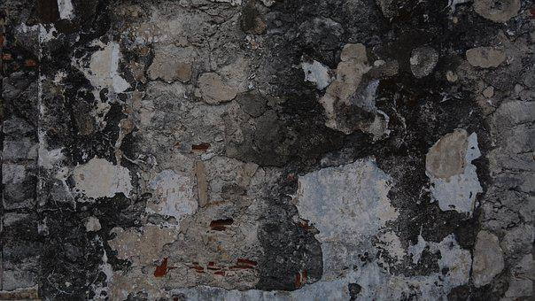 Rough, Old, Wall, Texture, Stone, Mold, Contrast, Rock