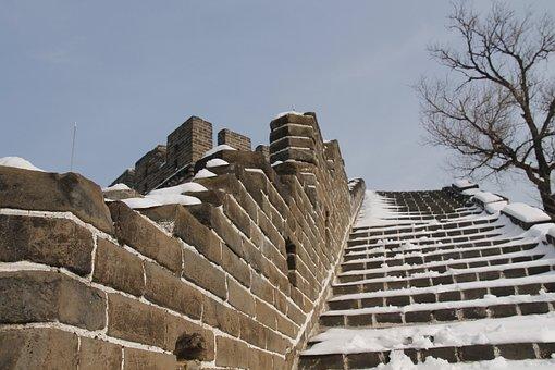 Building, Stone, Sky, Wall, Tourism, China