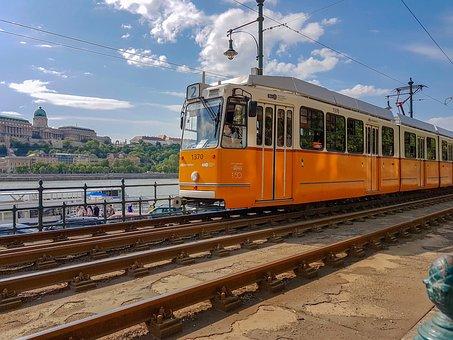 Transport, Travel, Train, Railway Line, Electric