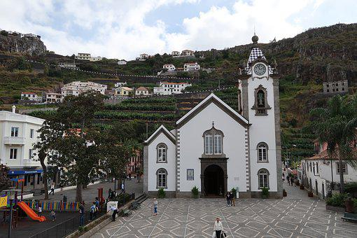 Madeira, Architecture, Church, Travel, Town, Outdoors