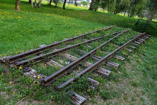 Rail, Lonely, Alone, Stones, Railway Line, Railway