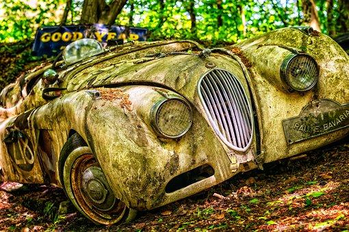 Pkw, Auto, Jaguar, Oldtimer, Old Car, Automotive