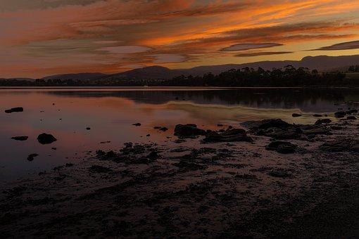 Howden, Australia, Tasmania, Coastal, Beach, Sky, Sea