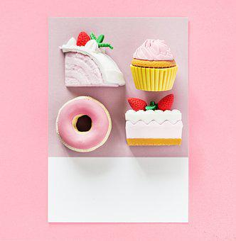 Arranged, Art, Background, Cake, Candy, Card, Close Up