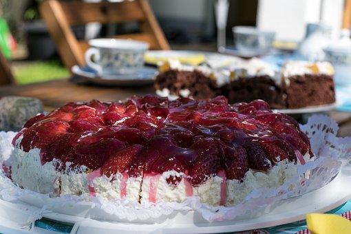 Dessert, Cake, Food, Cream, Delicious, Refreshment