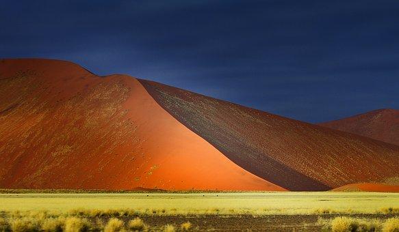 Landscape, Panoramic, Travel, Desert, Sky, Outdoors