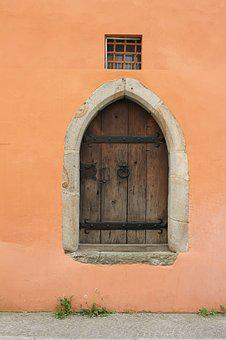 Passau, Architecture, Door, Old, Wall, Entrance