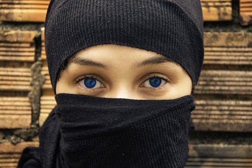 Eyes, Woman, Blue, Female, Beautiful, Portrait