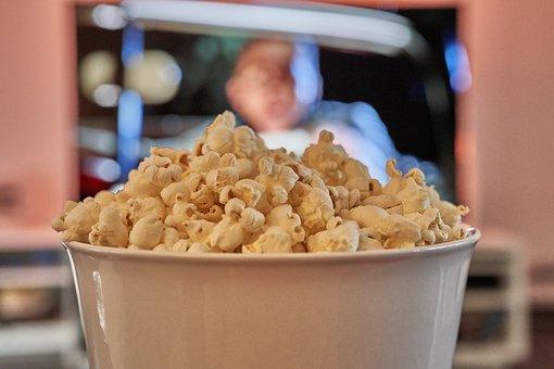 Bowl, Popcorn, Cinema, Tv, Experience, Eat, Knabern