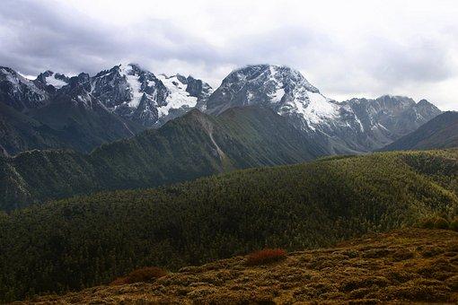 Mountain, Nature, Panoramic, Landscape, Travel