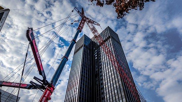 Architecture, Sky, Large, Skyscraper, Building, Office