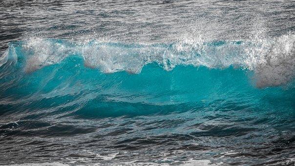 Surf, Water, Wave, Spray, Sea, Splash, Liquid, Nature