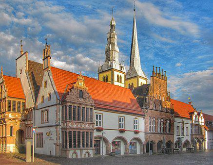 Architecture, Travel, Building, City, Old, Cathedral