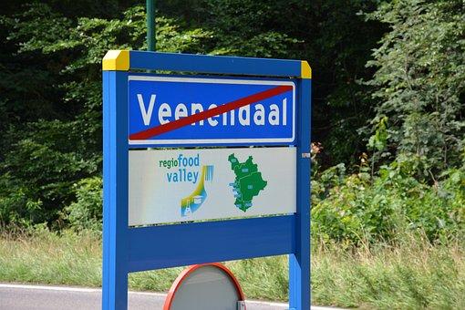 Outdoor, Road, Sign, Wood, Built, Veenendaal