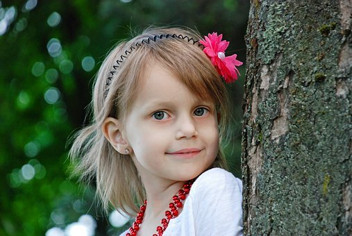 Nature, Cute, Baby, Little, Summer, Park, Hair