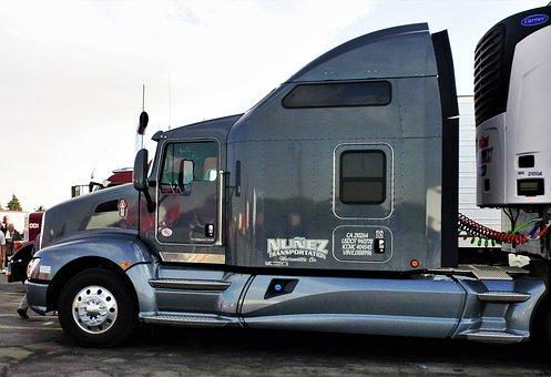 Transport, Automobile, Vehicle, Truck, Parking