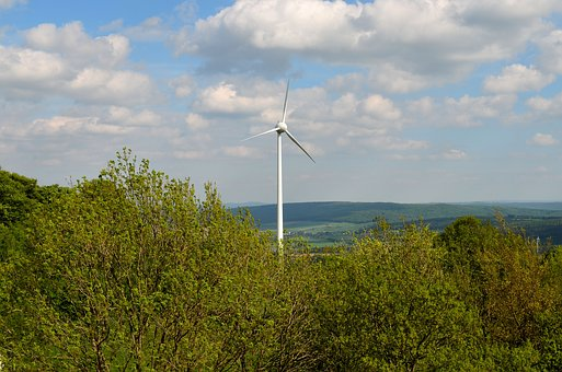 Pinwheel, Wind Energy, Zerspargelung, Grass, Nature