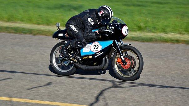 Motorcycle, Hillclimb, Suzuki Tr 250 Replica, Sport