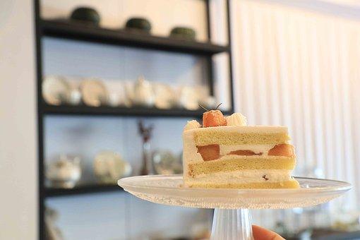 Cake, Sweety, Food, Bread, Dessert, Strawberry, Sweet