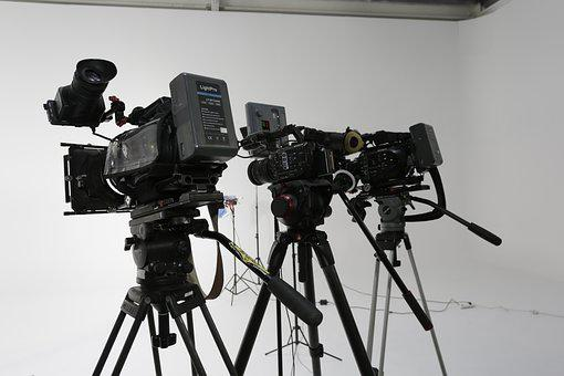 Tripod, Lens, Movie, Technology, Camcorder, Studio