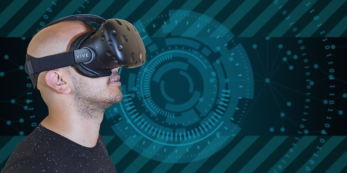Virtual Reality, Network, Technology, Communication