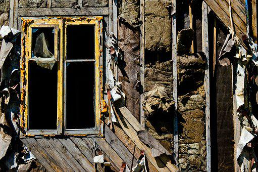 Window, The Ruins Of The, Old House
