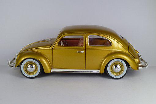Vw Käfer, Vw Beetle, 1'000'000, 1955, 1x18, Model Car