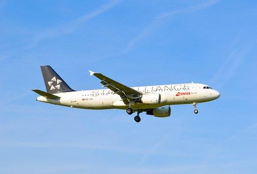 Aircraft, Jet, Swiss, Star Alliance, Airbus, A320