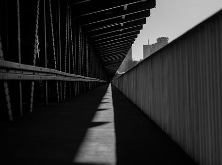 No One, The Darkness, Architecture, Light, Shadow