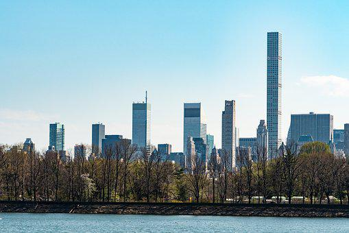 New York City, Central Park, Spring, City, Architecture