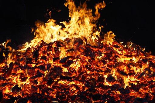 Flame, Heat, Flammable, Burn, Bonfire, Walpurgis