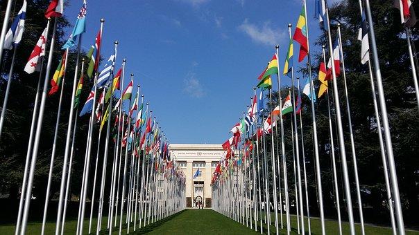 Flag, Geneva, Un