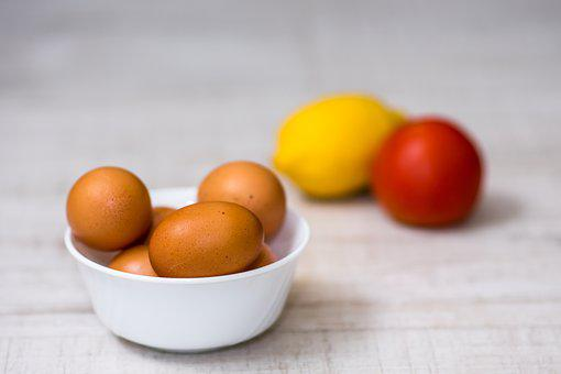 Food, Fruit, Organic Fresh Eggs, Healthy, Diet