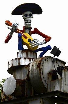 Industry, Day, Dead, Sugar, Skull, Mexico, Holiday