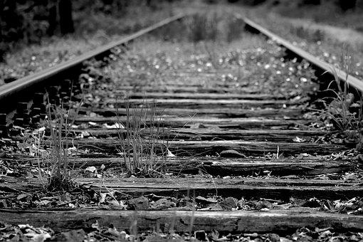 Railway Line, Railway, Race Track, Train, Just